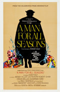 "Movie Posters:Academy Award Winners, A Man For All Seasons (Columbia, 1966). Roadshow One Sheet (27"" X 41"").. ..."