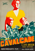 "Movie Posters:Academy Award Winners, Cavalcade (Fox, 1933). Full-Bleed Swedish One Sheet (27"" X 39"").Academy Award Winners.. ..."
