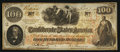 Confederate Notes:1862 Issues, T40 $100 1862 PF-6 Cr. 319.. ...