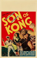 "Movie Posters:Horror, Son of Kong (RKO, 1933). Window Card (14"" X 22"").. ..."