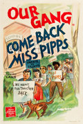 "Movie Posters:Comedy, Our Gang in Come Back Miss Pipps (MGM, 1941). One Sheet (27.25"" X41"").. ..."