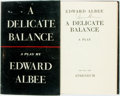 Books:Literature 1900-up, Edward Albee. SIGNED. A Delicate Balance. New York:Atheneum, 1966. First edition. Signed by the author. Publish...
