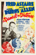 "Movie Posters:Musical, A Damsel In Distress (RKO, 1937). One Sheet (27"" X 41"").. ..."