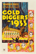 """Movie Posters:Musical, Gold Diggers of 1933 (Warner Brothers, 1933). One Sheet (27"""" X 41"""") Style B.. ..."""