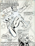 Original Comic Art:Splash Pages, Sam Kweskin and Frank Giacoia Sub-Mariner #62 Splash Page 1Original Art (Marvel, 1973)....