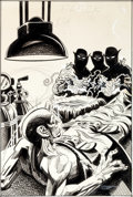 Original Comic Art:Covers, Jerry Grandenetti and Creig Flessel Black Magic #3 CoverOriginal Art (DC, 1974)....
