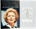 Books:Biography & Memoir, Margaret Thatcher. SIGNED. The Downing Street Years.HarperCollins, [1993]. Signed by the author on a bookplate. ...