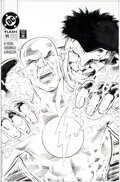 Original Comic Art:Covers, Alan Davis and Mark Farmer Flash #85 Cover Original Art (DC,1993)....