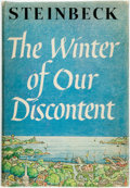 Books:Literature 1900-up, [Featured Lot] John Steinbeck. The Winter of Our Discontent. New York: Viking, [1961]. First edition. Publisher's cl...