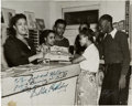 Music Memorabilia:Autographs and Signed Items, Billie Holiday Signed Photo (Circa 1941)....