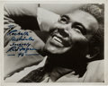 Movie/TV Memorabilia:Autographs and Signed Items, A Rex Ingram Signed Black and White Photograph, 1943....