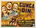 "Movie Posters:Action, Gunga Din (RKO, 1939). Half Sheet (22"" X 28"") Style A.. ..."
