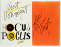 Books:Literature 1900-up, Kurt Vonnegut. SIGNED. Hocus Pocus. New York: Putnam's,[1990]. Fifth printing. Signed by the author. Publisher'...