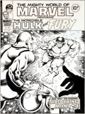 Original Comic Art:Covers, Pablo Marcos The Mighty World of Marvel #262 Cover OriginalArt (Marvel, 1977)....