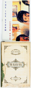 Books:Literature 1900-up, Rick Moody. Pair of SIGNED First Editions. Includes The IceStorm [and:] The Black Veil. Boston: Little, Bro...(Total: 2 Items)