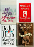 Books:Literature 1900-up, Margaret Atwood. Group of Four First Editions, Three of Which areSIGNED. Includes The Robber Bride, Life before Man, Bo...(Total: 4 Items)