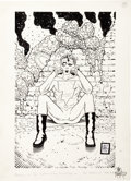 Original Comic Art:Splash Pages, Tim Bradstreet Madman Pin-Up Original Art (Image, 1996)....