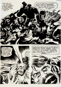 """Original Comic Art:Panel Pages, Jack Kirby and Vince Colletta Spirit World #1 """"House ofHorror"""" Page #10 Original Art (DC, 1971)...."""