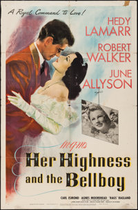 "Her Highness and the Bellboy (MGM, 1945). One Sheet (27"" X 41""). Comedy"