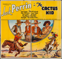 "The Cactus Kid (William Steiner, 1935). Six Sheet (76"" X 77""). Western"