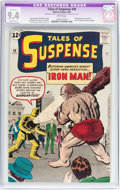 Silver Age (1956-1969):Superhero, Tales of Suspense #40 (Marvel, 1963) CGC Apparent NM 9.4 Slight (B-1) White pages....