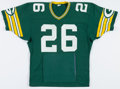 Football Collectibles:Uniforms, 1984-86 Tim Lewis Game Worn Green Bay Packers Jersey - With Built In Hand Warmers....