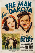 "Movie Posters:War, The Man from Dakota (MGM, 1940). One Sheet (27"" X 41"") Style C.War.. ..."