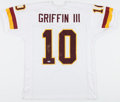 Football Collectibles:Uniforms, Robert Griffin III Signed Washington Redskins Jersey....