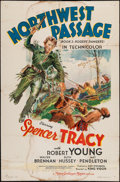 "Movie Posters:Action, Northwest Passage (MGM, 1940). One Sheet (27"" X 41"") Style C. Action.. ..."