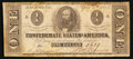 Confederate Notes:1863 Issues, T62 $1 1863 PF-20 Cr. 481.. ...