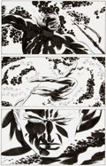 Original Comic Art:Panel Pages, Darwyn Cooke New Frontiers #5 Page 33 and Splash Page 34Original Art Group (DC, 2004).... (Total: 2 Original Art)
