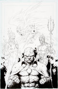 Original Comic Art:Covers, Gary Frank Brightest Day #23 Cover Original Art (DC,2011)....