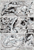 Original Comic Art:Panel Pages, Sam Kweskin and Bill Everett Sub-Mariner #58 Page 12Original Art (Marvel, 1973)....