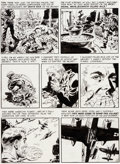 """Original Comic Art:Panel Pages, Wally Wood Two-Fisted Tales #24 """"Bug Out!"""" Page 5 OriginalArt (EC, 1951)...."""