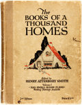 Books:Art & Architecture, Henry Atterbury Smith, editor. The Books of a Thousand Homes, Vol. 1: 500 Small House Plans. New York: Home Owners S...