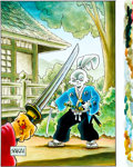 "Original Comic Art:Covers, Stan Sakai Usagi Yojimbo Trade Paperback #28 ""Red Scorpion""Cover Original Art (Dark Horse/Fantagraphics, 2014)...."