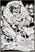 Original Comic Art:Splash Pages, Jim Starlin and Mike Esposito Iron Man #56 Splash Page 22Original Art (Marvel, 1973)....