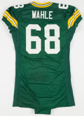 Football Collectibles:Uniforms, 1998 Mike Wahle Game Worn Green Bay Packers Rookie Jersey....