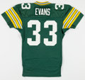 Football Collectibles:Uniforms, 1993 Doug Evans Game Worn Green Bay Packers Rookie Jersey....