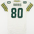 Football Collectibles:Uniforms, 1993 Jackie Harris Game Worn Green Bay Packers Jersey....