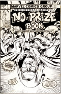 Original Comic Art:Covers, Michael Golden Marvel No-Prize Book #1 Cover Original Art(Marvel, 1983)....