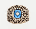Baseball Collectibles:Others, 1990 Shreveport Captains Texas League Champions Ring....