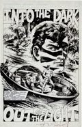 Original Comic Art:Splash Pages, John Herbert and E.R. Cruz Sable #12 Splash Page 4 OriginalArt (First, 1989)....