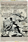 Original Comic Art:Splash Pages, Sal Buscema, Mike Esposito, and Frank Giacoia The SpectacularSpider-Man #10 Splash Page 1 Original Art (Marvel, 1...