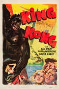 "Movie Posters:Horror, King Kong (RKO, R-1942). One Sheet (27.25"" X 41"").. ..."