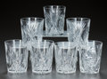 Miscellaneous, SEVEN CUT-GLASS TUMBLERS, circa 1900. 4 inches high (10.2 cm). APrivate Texas Collection of American Brilliant Cut Glass... (Total:7 Items)