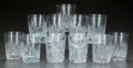 Miscellaneous, ELEVEN CUT-GLASS TUMBLERS, circa 1900. 4 inches high (10.2 cm). APrivate Texas Collection of American Brilliant Cut Glass... (Total:11 Items)