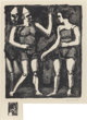 GEORGES ROUAULT (French, 1871-1958) Parade (from Maîtres et petits maîtres d'aujourd'hui), 1926 Lithograph...