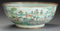 Asian:China Trade, A CHINESE EXPORT PORCELAIN BOWL. 5-3/8 inches high x 13-1/2 inchesdiameter (13.7 x 34.3 cm). ...