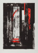 JOHN PIPER (British, 1903-1992) Untitled Lithograph 32-1/8 x 23-1/4 inches (81.6 x 59.1 cm) Ed. 70/70 Signed and nu